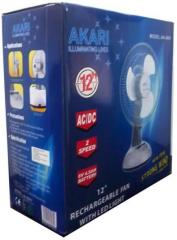 Akari 12 Inch Rechargeable Table Fan Price In India Compare