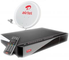 Airtel Digital TV SD Set Top Box With 1 Month New Mega Pack