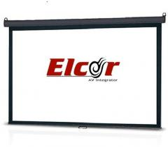 Elcor Manual Projector Screen 4ft x6ft