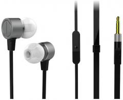 4a2fa81a241 Portronics POR 614 Ear Buds Wired Earphones With Mic Black price in ...