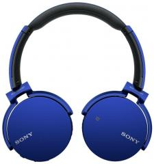 Sony MDR XB650BT On Ear Extra Bass Headphones with Bluetooth & NFC