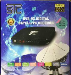 STC dd free dish set top box H700 FTA Multimedia Player