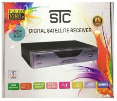 STC Satellite Receiver Dvb HD Set Top Box H 103 Multimedia Player