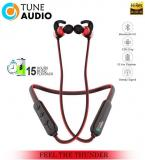 TUNE AUDIO THUNDER 15 HOURS MUSIC PLAYBACK 4D BASS Neckband Wireless With Mic Headphones/Earphones