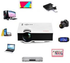 UNIC UC40 800x480 pixels with 8GB Pen Drive LED Projector 640x480 Pixels