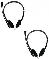 7039b4c8a64 Zebronics zeb 15HMV Over Ear Wired Headphones With Mic price in ...