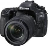 Canon 80D DSLR Camera Body With Single Lens: 18 135 IS USM