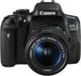 Canon EOS 750D Body With Single Lens: 18 55mm DSLR Camera