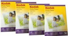 Kodak KDK Unruled 4R Photo Paper