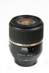 Tamron G005N SP AF 60 mm F/2.0 Di II 1:1 Macro for Nikon Digital SLR Lens