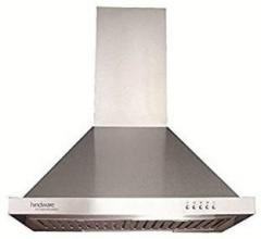 Hindware Jupiter Plus 60 SS (with free Tyffyn from Kitchenempire) Wall  Mounted Chimney (stainless Steel, 1000 m3/hr)
