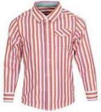 Allen Solly Red Casual Shirt Boys