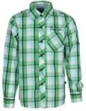 Bells And Whistles Green Casual Shirt Boys