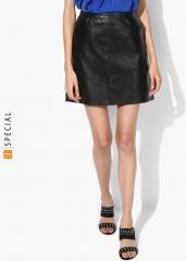 844b27b934 Dorothy Perkins Black Self Design Pencil Mini Skirt for women price ...