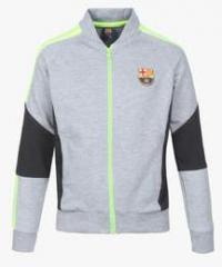 wholesale dealer 53225 8424d Fc Barcelona Grey Football Winter Jacket boys