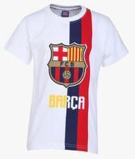 d2420493995 Fc Barcelona White T Shirt for boys price in India 2019 from ...