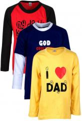Gkidz Pack Of 3 Multicoloured Value Packs T Shirts boys