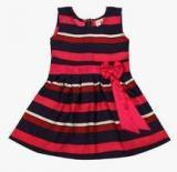 Kids On Board Multicoloured Casual Dress Girls