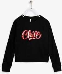 d29edfba21f Lee Cooper Black Sweatshirt for girls price 2019   trends in India ...