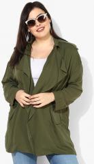 86a2d2d84 Mango Olive Solid Summer Jacket women