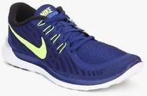 18b1c38ecd75 Nike Free 5.0 Navy Blue Running Shoes for Men online in India at ...