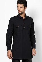 Even linen solid orange nehru jacket men best price in for Linen shirts for mens in chennai