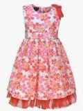 Peaches Multicoloured Casual Dress Girls