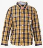 Pepe Jeans Mustard Yellow Casual Shirt Boys