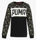 Puma Style Crew Sweat Ii Olive Nightaop Multicoloured Sweatshirt Boys
