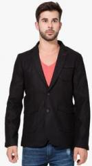 The Indian Garage Co Black Solid Jackets Blazers For Men Price Best Buy Price In India December 2020 Detail Trends Pricehunt