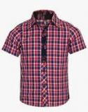 Tickles Red Casual Shirt Boys