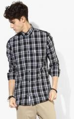 87e24b53e U S Polo Assn Black Checked Regular Fit Casual Shirt for men price ...