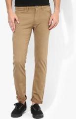 United Colors Of Benetton Khaki Regular Fit Chinos men