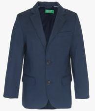 United Colors Of Benetton Navy Blue Blazers boys