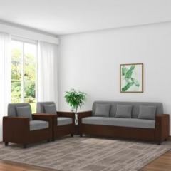 Adorn Homez Optima Fabric 3 1 1 Brown Grey Sofa Set Price In India September 2020 See Compare Evaluate Buy Pricehunt