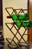 Ag Gifts Indian Iron Bottle Rack Cellar