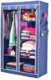 Arsh AW06 Blue High Capacity Upto 70Kgs Carbon Steel Collapsible Wardrobe