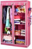 Arsh AW06 Maroon High Capacity Upto 70Kgs Carbon Steel Collapsible Wardrobe