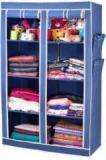 Arsh AW08 Blue High Capacity Upto 70Kgs Carbon Steel Collapsible Wardrobe