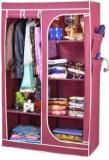 Arsh AW30 Maroon High Capacity Upto 70Kgs Carbon Steel Collapsible Wardrobe