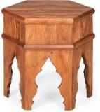 @home By Nilkamal Dynasty Solid Wood Side Table