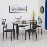 @home By Nilkamal Kimmy Engineered Wood 4 Seater Dining Set
