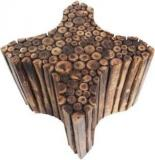 Craftonline New Antique Shaped Wooden Stool Living & Bedroom Stool
