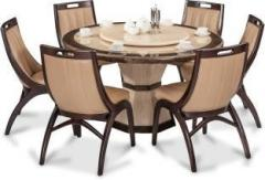 00abab774 Durian FENG 35404 Stone 6 Seater Dining Set price in India June 2019 ...