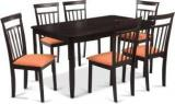 Durian NAPLES Engineered Wood 6 Seater Dining Set
