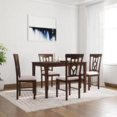Awesome Flipkart Perfect Homes Langkawi Solid Wood 4 Seater Dining Set Home Interior And Landscaping Ologienasavecom