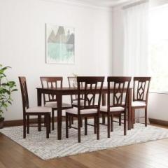 Marvelous Flipkart Perfect Homes Langkawi Solid Wood 6 Seater Dining Set Home Interior And Landscaping Ologienasavecom