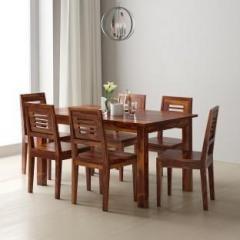 4b60fa023a Flipkart Perfect Homes PureWood Sheesham 6 Seater Dining Set price ...