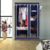Flipkart Smartbuy 2 Door 6 Shelf PP Collapsible Wardrobe