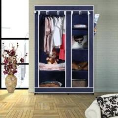 8095bb21a11 Flipkart Smartbuy 2 Door 6 Shelf PP Collapsible Wardrobe price in ...